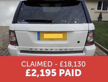 Overfinch Range Rover - Cost Claims Analysis Case